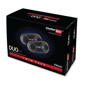 De Chatterbox DUO Pro blinkt uit in zijn prijs-kwaliteit verhouding en is eenvoudig in het gebruik. De DUO Pro is ontwikkeld voor full-duplex communicatie tussen de bestuurder en passagier en biedt ook de mogelijkheid om maximaal twee Bluetooth apparaten tegelijkertijd te koppelen. Eén van de additionele functies is het delen van muziek tussen de bestuurder en een passagier zodat je gelijktijdig naar dezelfde muziekbron kunt luisteren. Nu voor €75,00 per stuk